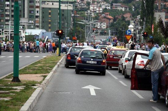 Protesti na Čengić Vili (foto: Feđa Krvavac)