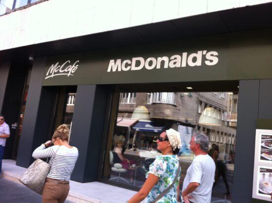 McDonalds, Sarajevo