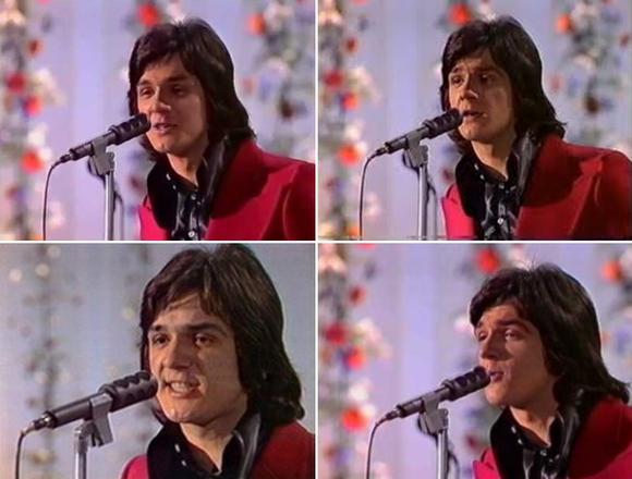 Zdravko Čolić na Pjesmi Evrovizije 1973. godine u Luksemburgu