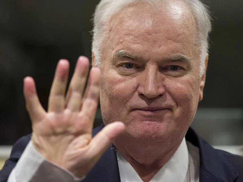 Ratko Mladić na izricanju presude (Den Haag, 22.11.2017.)Den Haag, 22.11.2017.)