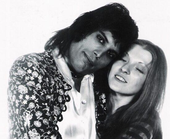Freddie Mercury & Mary Austin