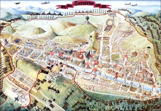 Sarajevo Survival Map (1992-1996)
