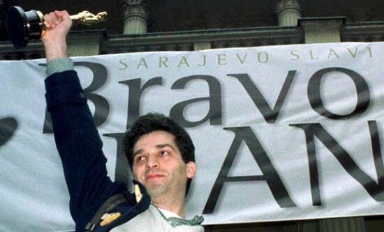 Danis Tanović sa Oskarom u Sarajevu