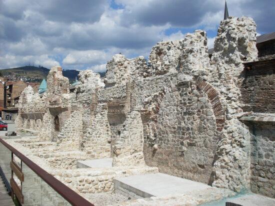 Ostaci istočnih zidina Tašlihana, Sarajevo