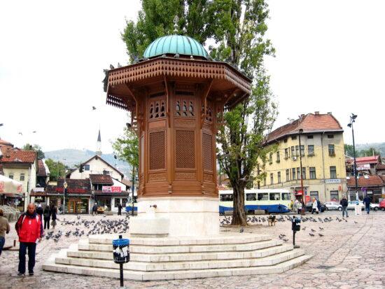 Najpoznatiji Sarajlija: Sebilj na Baščaršiji