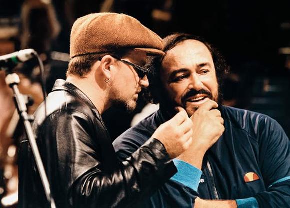 Bono Vox i Luciano Pavarotti pjevaju Miss Sarajevo