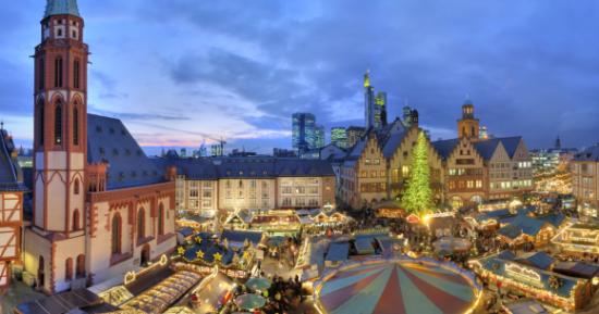 Frankfurt na Majni, najveći grad u njemačkoj saveznoj zemlji Hessen, nekad slobodni grad carstva, gdje su se održavali izbori i krunidbe njemačkih careva, danas je jedna od najbogatijih metropola Evrope, te bankarski, literarni i kulturni centar u kojem se nalazi sjedište Evropske središnje banke i jedno od najvažnijih financijskih tržišta.