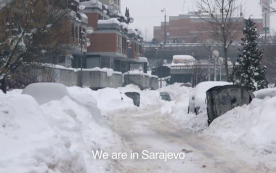 Sarajevo u februaru 2012. godine