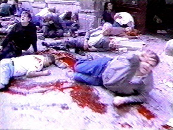 Prvi masakr u Sarajevu u Ferhadiji 27. maja 1992. godine