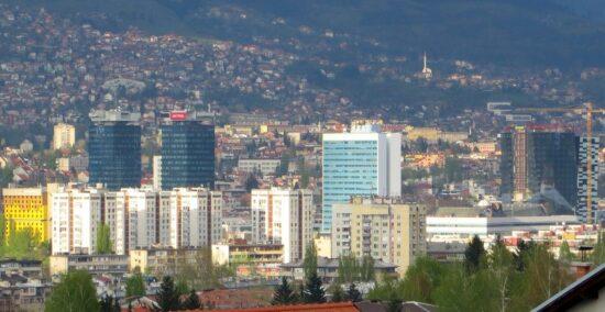 Sarajevo, arhitektonska džungla