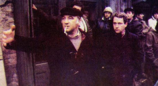 Mirza Idrizović na snimanju filma MIRIS DUNJA
