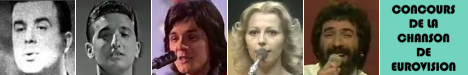 Eurosong: Sabahudin Kurt (1964), Vice Vukov (1965), Zdravko Čolić (1973), Ambasadori (1976), Seid Memić-Vajta (1981)