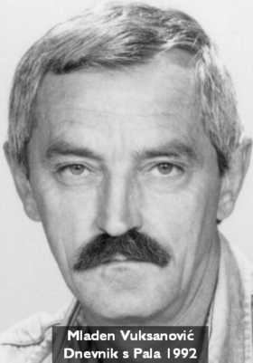 Mladen Vuksanović: Dnevnik s Pala 1992