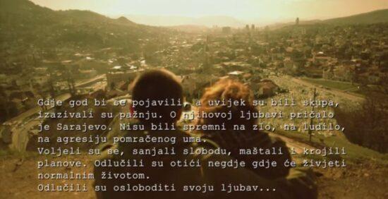 Scena iz spota 'Boško i Admira', Zabranjenog pušenja