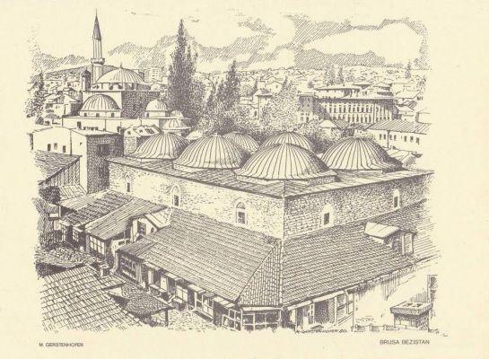 Brusa bezistan (Sarajevo u grafici, Mirko J. Gesteinhofer)