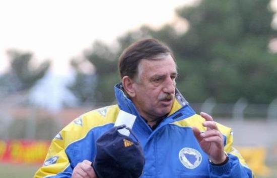 Josip Katalinski Škija u dresu Bosne i Hercegovine
