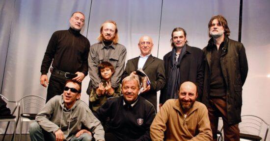 Mladen Nelević, Jasmin Geljo, Boro Stjepanović, Senad Bašić, Željko Ninčević, Admir Glamočak, Emir Hadžihafizbegović i Saša Pertović nakon 25 godina zajedno u Sarajevu