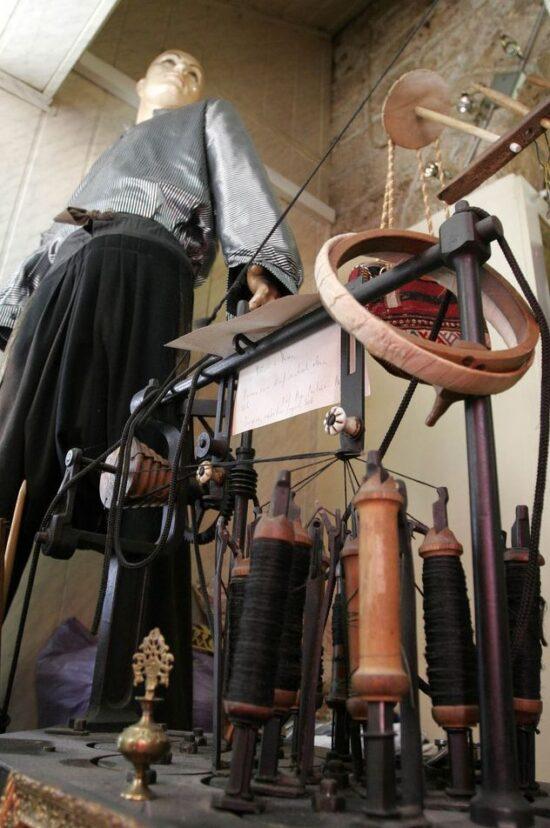 Kazaska mašina stara 230 godina. Manufaktura, industrija i navike učinili su svoje.
