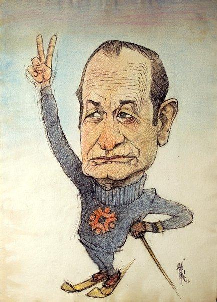 Ante Sučić (karikatura: Hasan Fazlić)