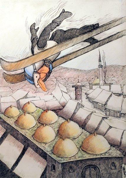 Bez riječi (karikatura: Hasan Fazlić)