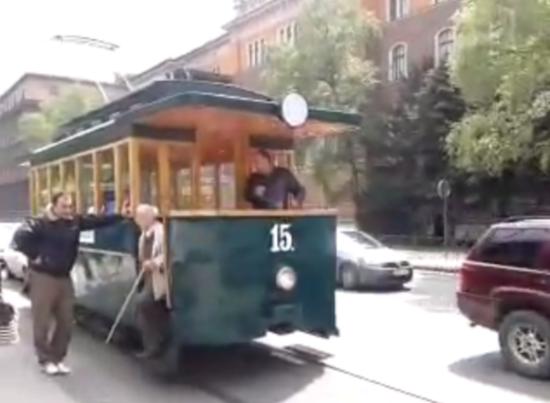 Stari električni tramvaj (Sarajevo, 2. maj 2014)