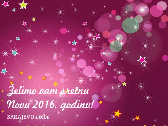 Sretna Nova 2016. godina