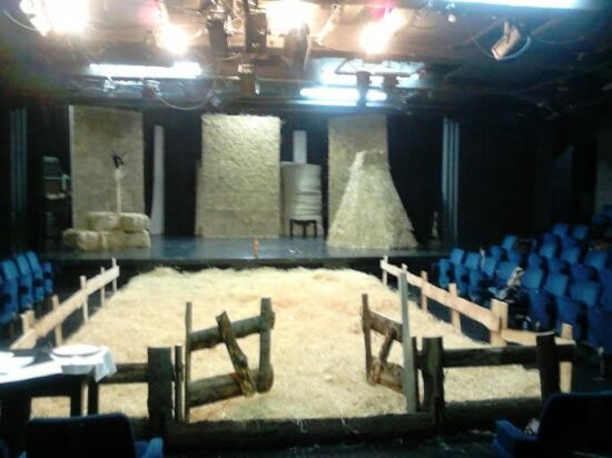 Scena za predstavu Teferic (Kamerni teatar 55)