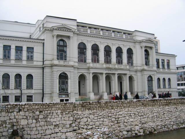 Zgrada Narodnog pozorišta Sarajevo
