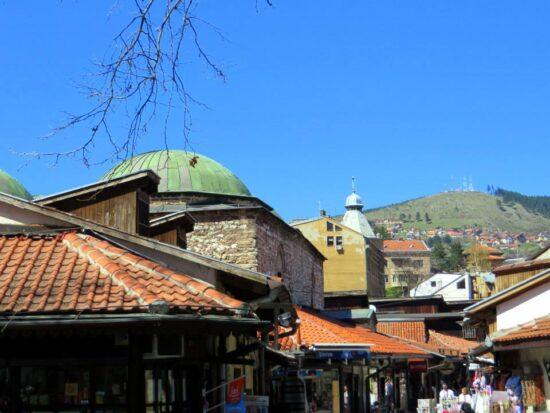 Krov velikog Bezistana (Sarajevo, 21. april 2015, foto: Mina Ćorić)