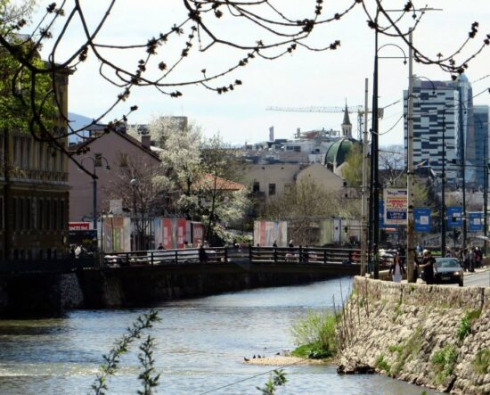 Drvenija most (Sarajevo, 21. april 2015, foto: Mina Ćorić)