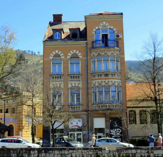Ulaz u Bistrik (Sarajevo, 21. april 2015, foto: Mina Ćorić)