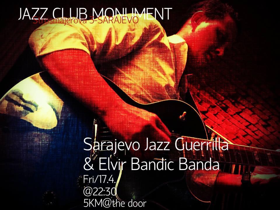 Sarajevo Jazz Guerrilla u Monumentu (17. april 2015)