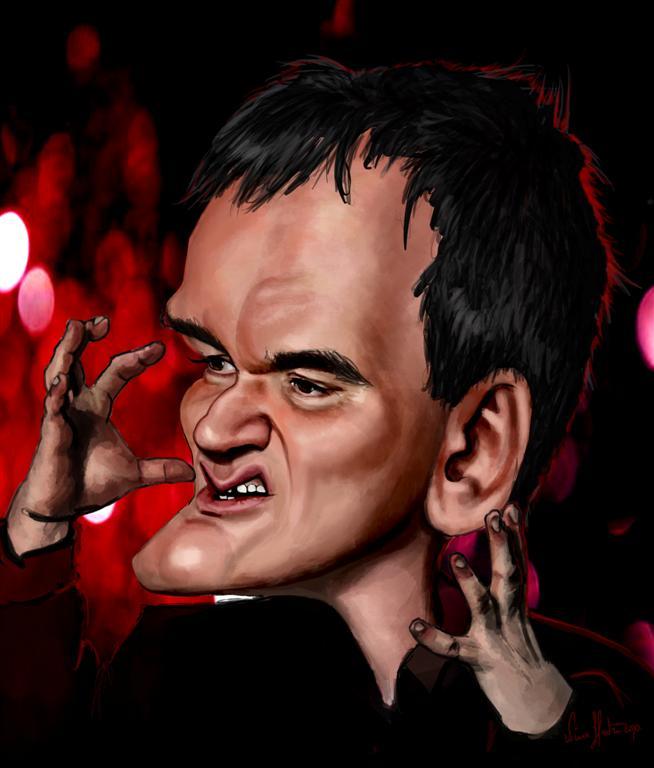 Quentin Tarantino (Nina Hadzic)
