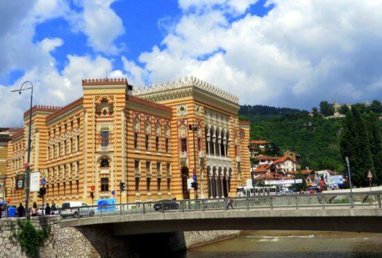 Vijećnica (Sarajevo, 25. 06. 2015, foto: Mina Coric)