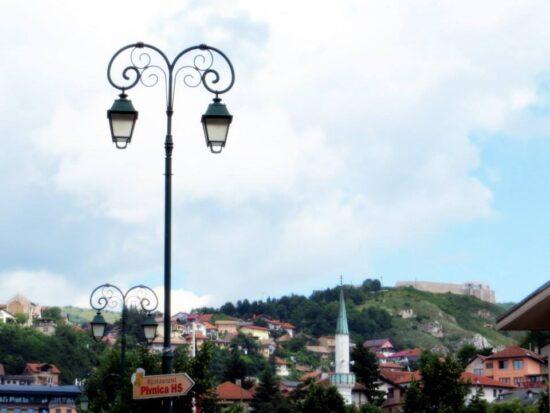 Pogled na Bijelu tabiju s Vijećnice (Sarajevo, 25. 06. 2015, foto: Mina Coric)