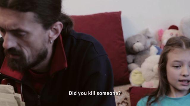 Scena iz kratkog filma Namjera