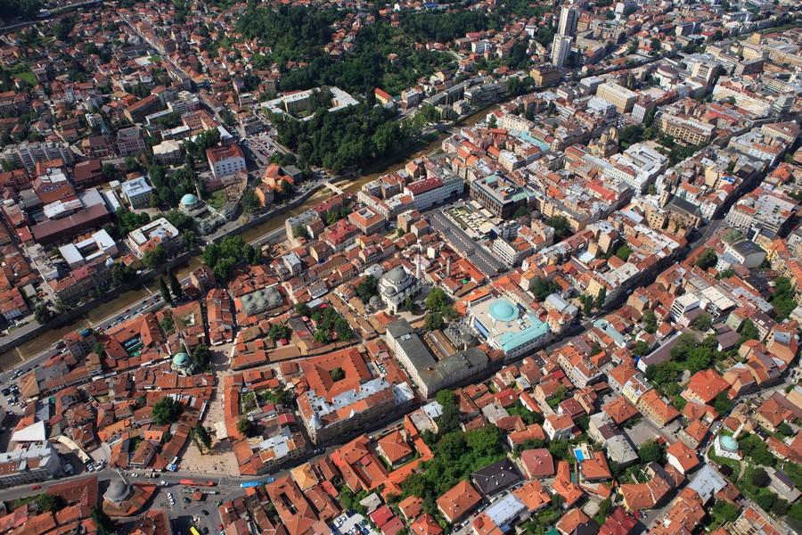 Sarajevo iz zraka