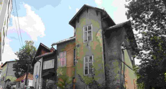 Kuća u kojoj je zivio Isak Samokovlija (Ulica Mehmed-bega Kapetanovića Ljubušaka, Sarajevo)