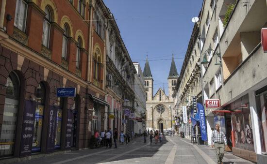 Štrosmajerova konačno pročepljena (Sarajevo, 16. septembar 2015)