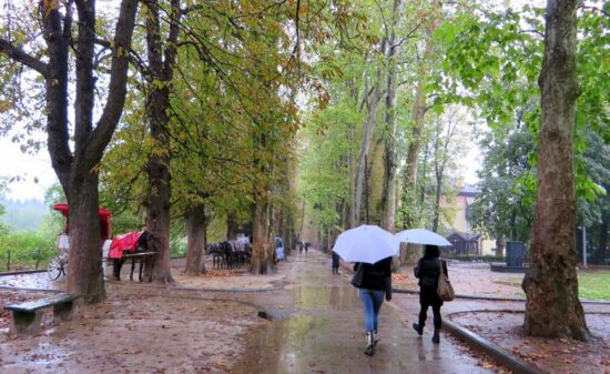 Ilidža u oktobru (Sarajevo, 11. oktobar 2015, foto: Mina Coric)