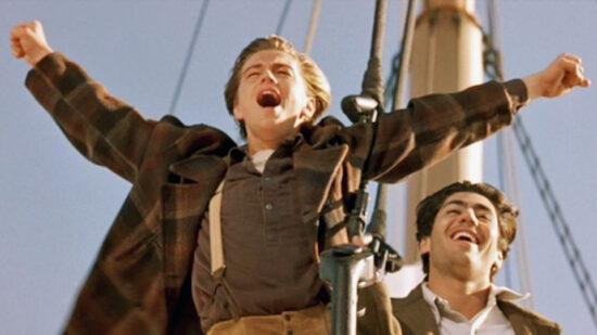 Scena iz filma Titanic