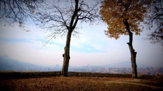Pogled sa Žute tabije (Sarajevo, 15. novembar 2015, foto: Mina Ćorić)