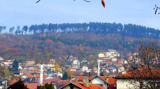 Zmajevac, pogled sa Žute tabije (Sarajevo, 15. novembar 2015, foto: Mina Ćorić)
