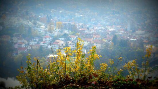 Alifakovac, pogled sa Žute tabije (Sarajevo, 15. novembar 2015, foto: Mina Ćorić)