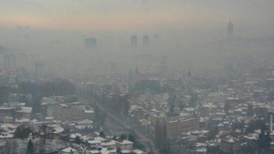 Zagađeno Sarajevo