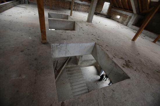 Raščišćeni ostaci zgrade Olimpijskog muzeja u Sarajevu