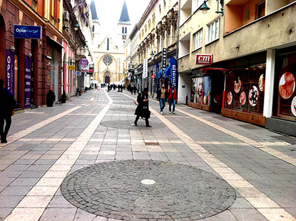 Strossmayerova ulica u Sarajevu