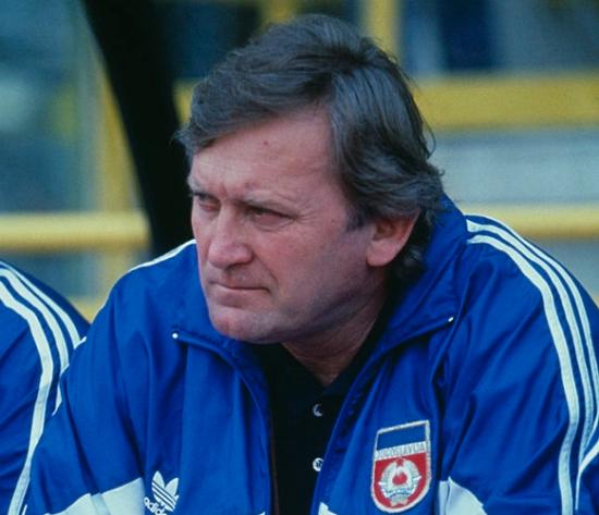 Ivica Osim na klupi reprezentacije SFR Jugoslavije