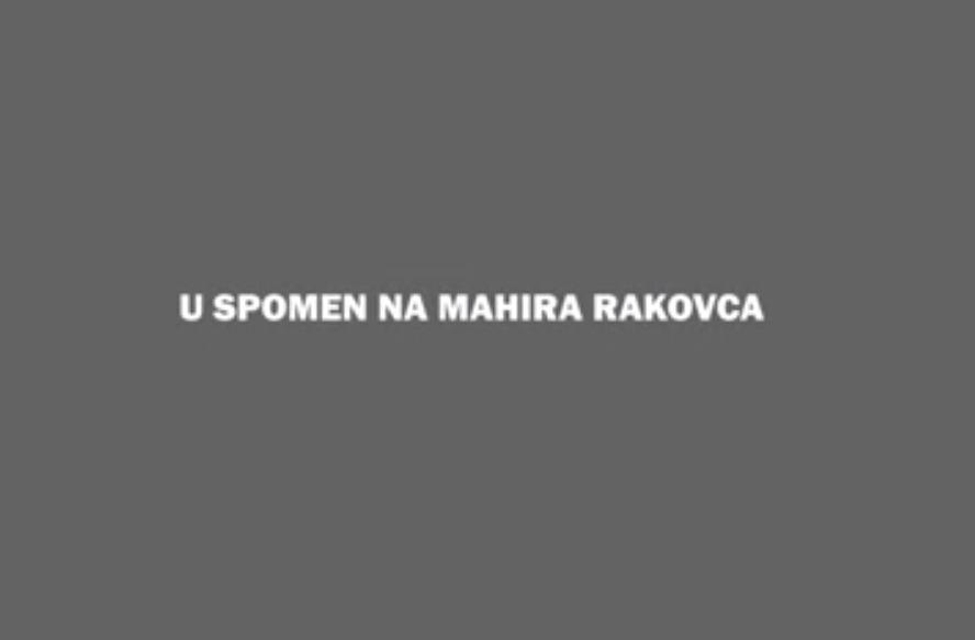 U spomen na Mahira Rakovca, žrtvu vršnjačkog nasilja