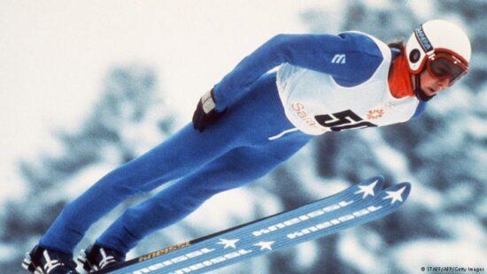 Olimpijski pobjednik Jens Weißflog, Sarajevo 1984